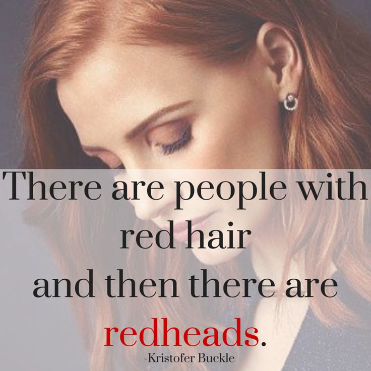 Re-Pin if you feel the same way! #RedheadforLife