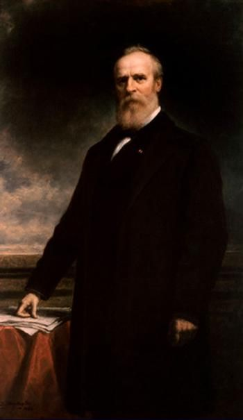 Official White House Portrait of Rutherford Birchard Hayes - 19th President of the United States