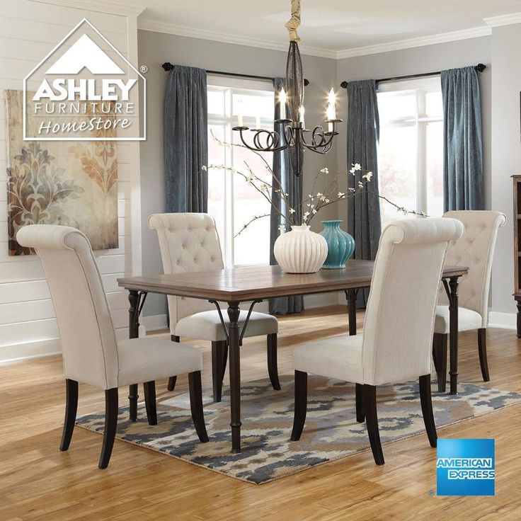 Ashley furniture home decorating ideas pinterest for Comedores ashley
