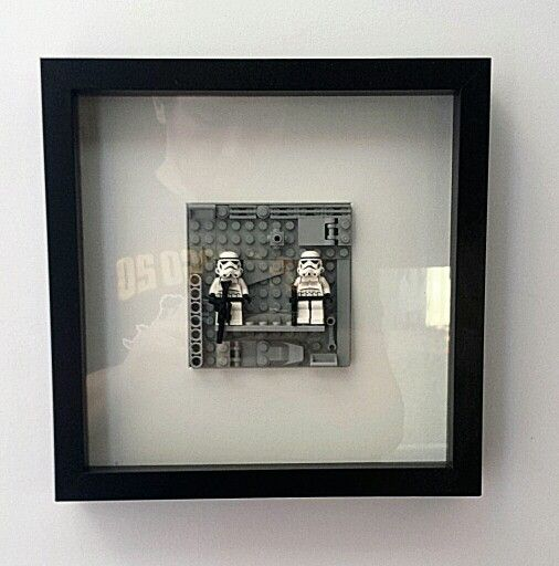 Framed Star Wars Lego