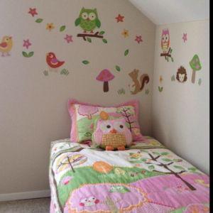 Beauty  Owl Decor For Kids Room