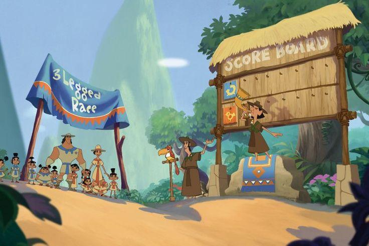 ПЕРУ, МАЧУ-ПИКЧУ  «Похождения Императора»  Знаешь ли ты, что, прежде чем начать работу над мультфильмом о приключениях Императора, аниматоры студии Disney отправились в Перу? Они посетили несколько древних городов, в том числе и знаменитый Мачу-Пикчу. Обрати внимание, как деревня, в которой живет Император Кузко, напоминает «потерянный город Инков». Если тебе повезет оказаться в Перу, обязательно посети это Новое чудо света!