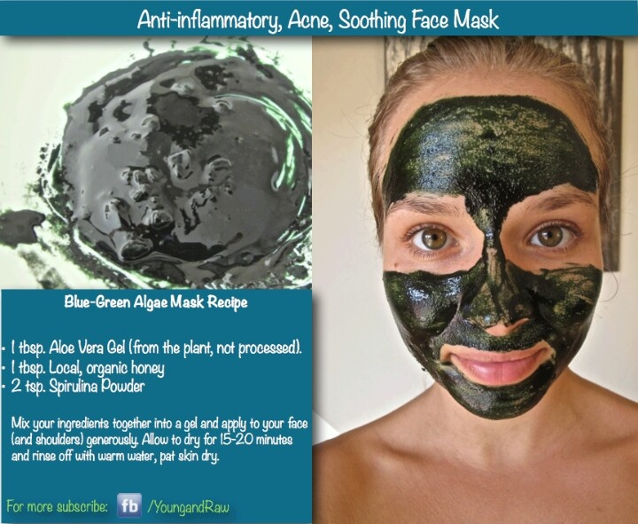 43 best face mask images on pinterest acne treatment anti aging anti inflammatory diy face mask solutioingenieria Images