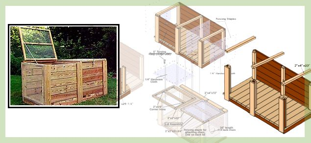 DIY compost bin, I need to find someone to make this for me.  It says it can be made by one person, but I think it means any one person but me.