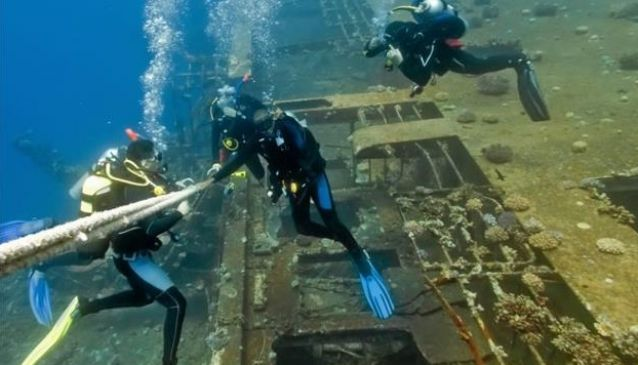 Diving in the Algarve | by Fiona Butler, My Destination Algarve #Portugal    Love to dive? Then prepare yourself. The Algarve is set to become THE destination for underwater tourism with the largest artificial reef in the world!