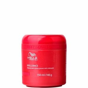 WELLA PROFESSIONALS BRILLIANCE MASK CABELO GROSSO - MÁSCARA DE TRATAMENTO 150ml