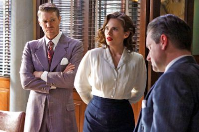 We Didnt Cancel Agent Carter- Marvel TV Head While Marvel is currently doing some of their most impressive work to date over on Netflix theyve yet to really hit their stride on network television.Agents of S.H.I.E.L.D.debuted on ABC back in 2013 and has struggled with ratings ever since andAgent Carter which starred fan-favorite character Peggy Carter (Hayley Atwell)only lasted two seasonsbefore getting the axe. While Marvel is looking to land a home runthis SeptemberwithThe Inhumans its…
