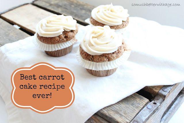 Best carrot cake recipe www.somuchbetterwithage.com