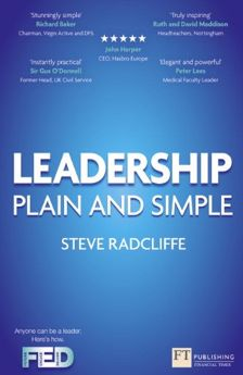 Leadership plain and simple (by Steve Radcliffe)