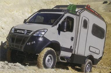 Iveco Daily 4x4 called the Discoverer Xtreme.
