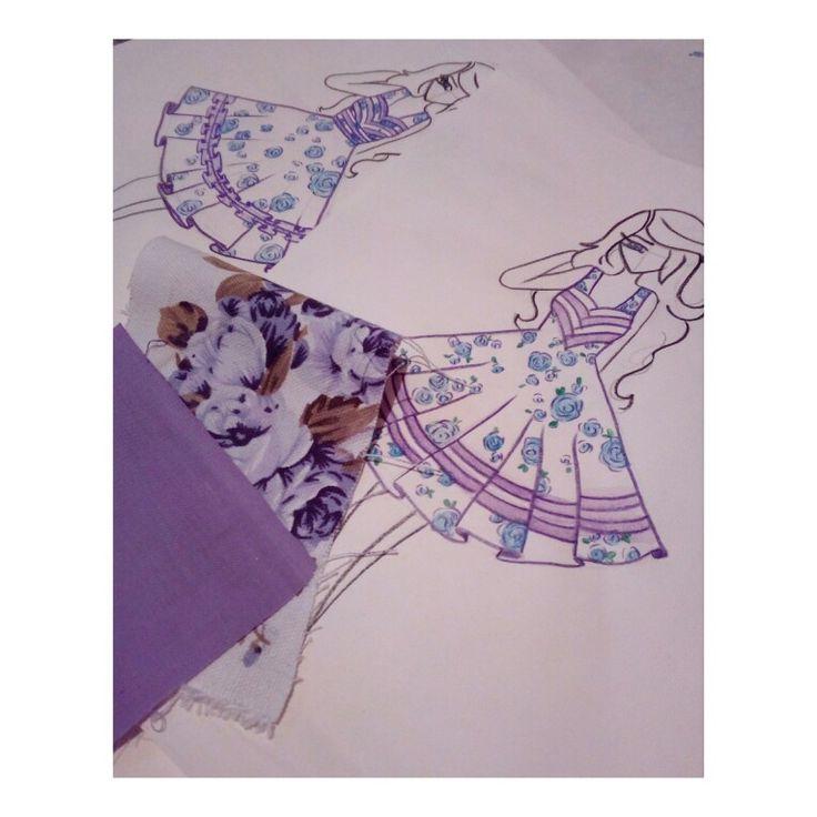 Ilustración vestido de huasa china