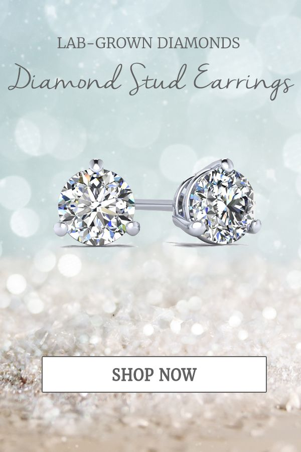fde9d13f0a8 14k White Gold Martini Setting for 1.00 Carat total weight Lab Grown Diamond  Studs starting at $1299