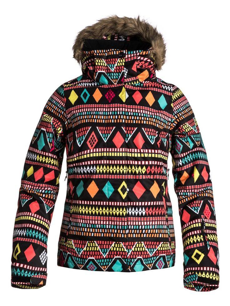 Roxy W Jet Ski Indies Jacket - http://www.skikleding-winkels ...