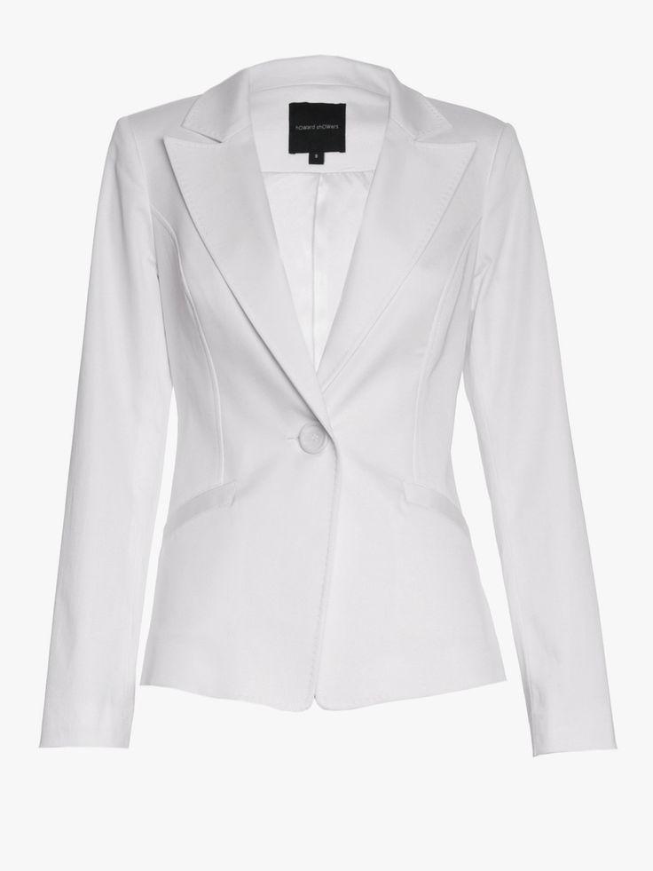 Howard Showers - Valerie Twill Jacket, $279.00 (http://shop.howardshowers.com.au/valerie-twill-jacket/)