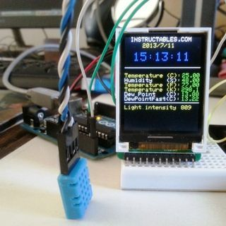Mini Arduino environment monitor   Check out http://appstore/iotmonitor  for cool new arduino stuff!
