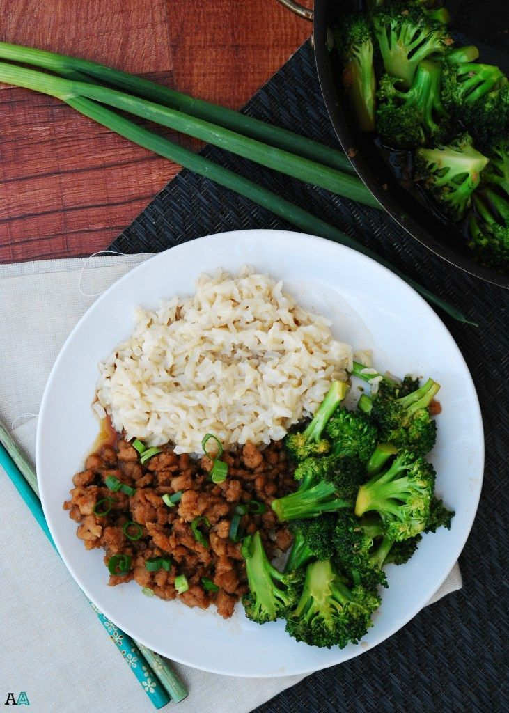 30 Minute Korean Chicken and Broccoli (GF, DF, Egg, Soy, Peanut/Tree nut Free, Top 8 Free) Allergy Awesomeness