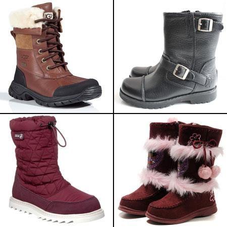 Децкая зимняя обувь