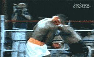 Mike Tyson's vicious uppercut