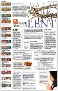 Lent Preparation for Children- Are You Ready?  This website also has great spiritual formation resources for kids - loved their Christmas suggestions.
