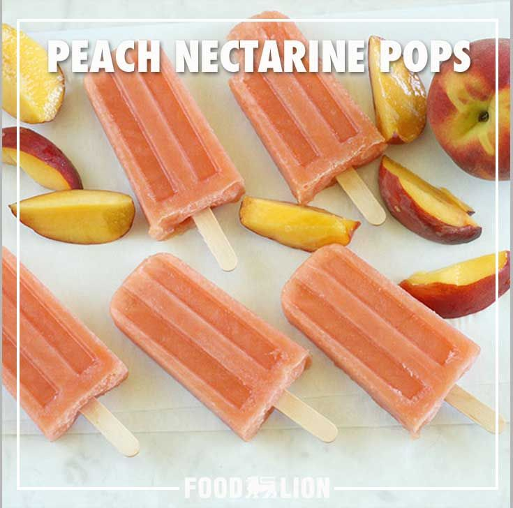 Combine the delicious flavors of peaches and nectarines in a refreshing and fruity pop.
