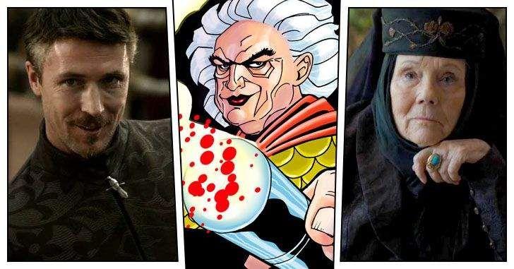 """Não foram só heróis que saíram das terras de Westeros; o elenco de Game of Trones já importou alguns vilões para DC e Marvel! É só lembrar, por exemplo, do Peter Dinklage, o Tyrion Lannister, que interpretou o Bolivar Trask em """"Dias de Um Futuro Esquecido"""", enquanto o Ciarán Hinds, o Mance Rayder, será o …"""