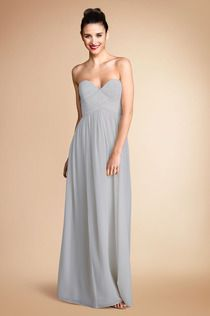 Donna Morgan Collection Laura gown in #Sterling ! #Weddings