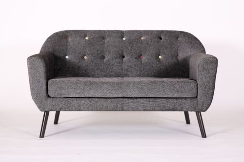 Details about Modern Accent Tub Bucket Sofa Love Seat ...