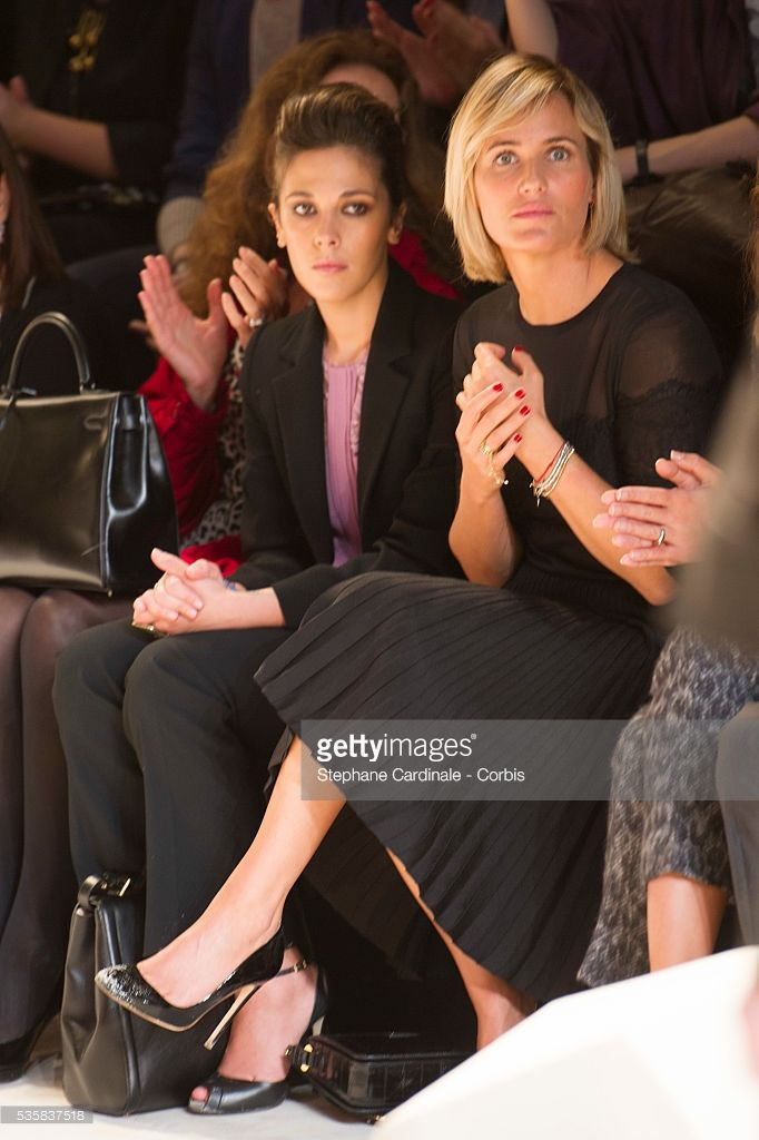 Photo d'actualité : Alysson Paradis and Judith Godreche attend the...