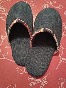 Chaussons en jean recyclé : le tuto
