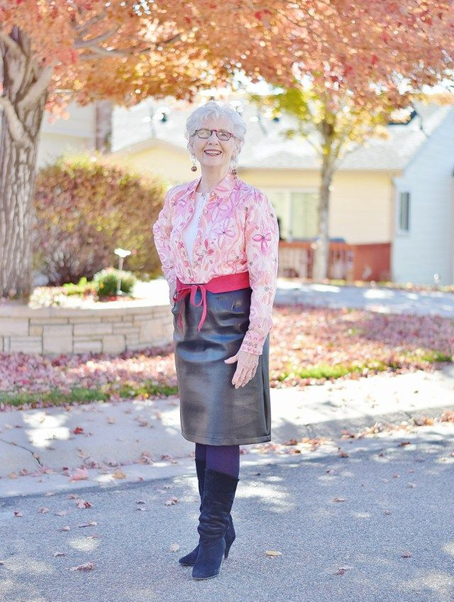 Styling Women in their 50's, 60's. & 70's.