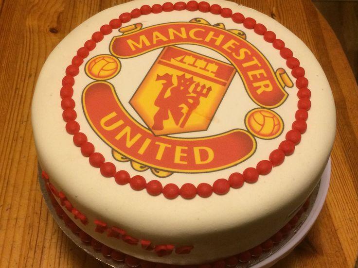 Manchester United kake