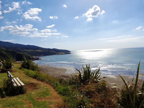 Beautiful Raglan, New Zealand.