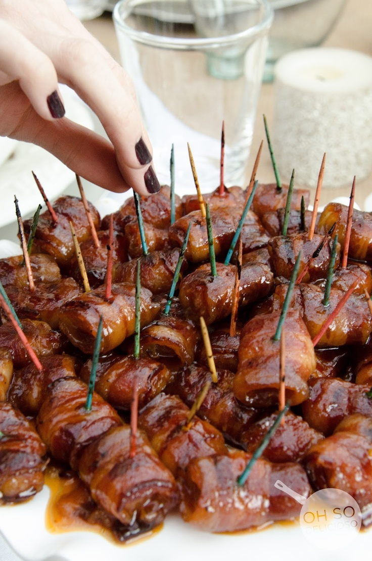 Bacon Wrapped Water Chestnuts | Recipe | hors doeuvers ...