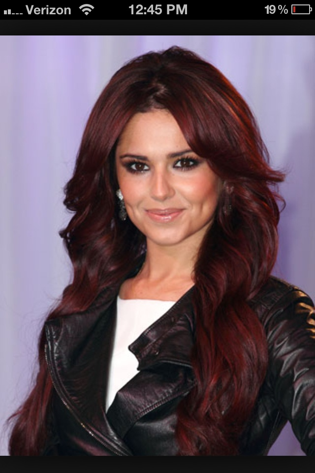 Deep red hair love it. Thinking about getting this color!