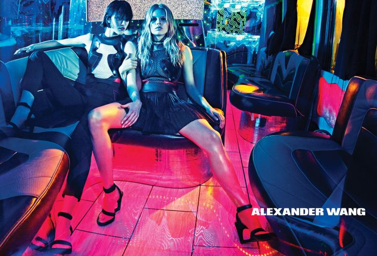 Anna Ewers, Binx Walton, Dylan Xue, Lexi Boling, Sarah Brannon, Vanessa Moody by Steven Klein for Alexander Wang Spring Summer 2015
