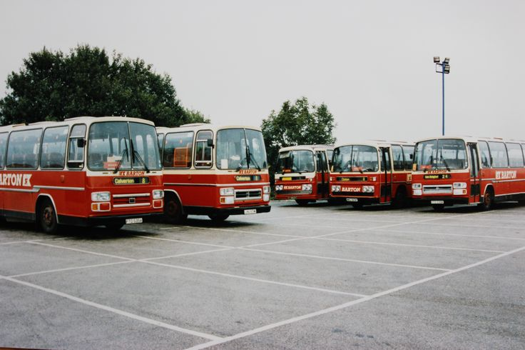 The changing face of Vehicles allocated to Calverton outstation  - Five Plaxton Supreme bodied Leyland Leopards