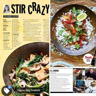 STIR CRAZY  Check our my delicious new easy to prepare Stir Fry recipes in Fabulous Magazine with the Sun newspaper today fabulousmag