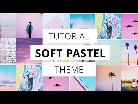 Lightroom tutorial: Traveler Pastel Instagram Look   Free Preset   - YouTube