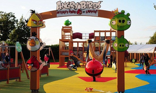 Lappset's Angry Birds Activity Park