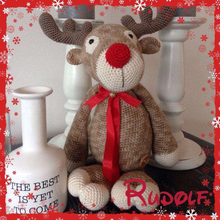Rudolf rendier my krissie dolls haken/crochet