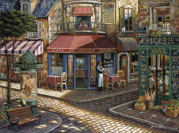 Cafe Lamour by John P. O'Brien
