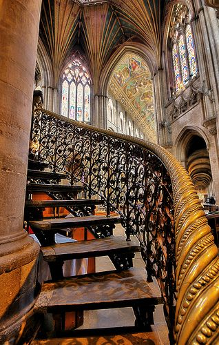 Ely Cathedral, Cambridgeshire, England ~ Photo by nick.garrod, via Flickr