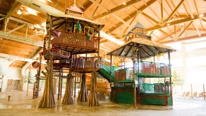 Your Great Wolf Lodge adventure begins in our massive, 84-degree indoor water park. Splash the day away in over 56,000 square feet of water-packed excitement, including jaw-dropping slides for thrill seekers or zero-depth entry areas for little ones. Outside the water park, the fun continues. Grab a wand and battle a dragon in MagiQuest or get an ice cream-themed manicure in Scooops Kid Spa before gathering your family in our Grand Lobby for nightly fireside Story Time!!!
