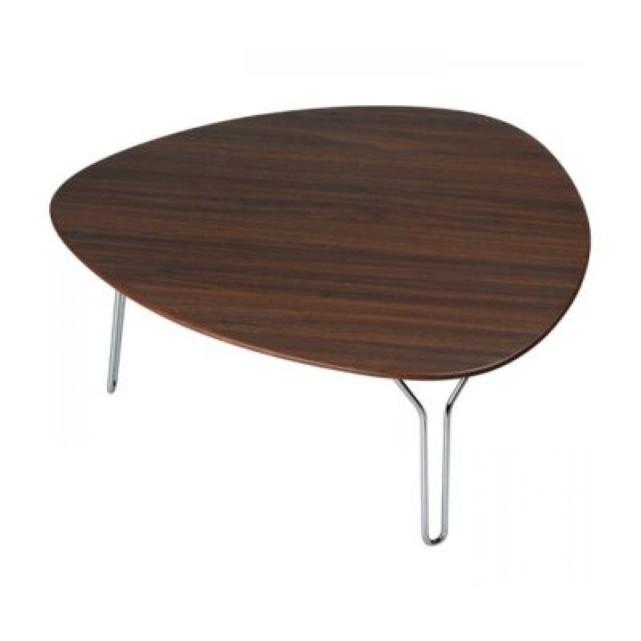 Table basse 50 euros table basse lounge en noyer noir l x for Longue table basse ikea