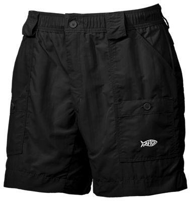 AFTCO Original Fishing Shorts for Men - Black - 30