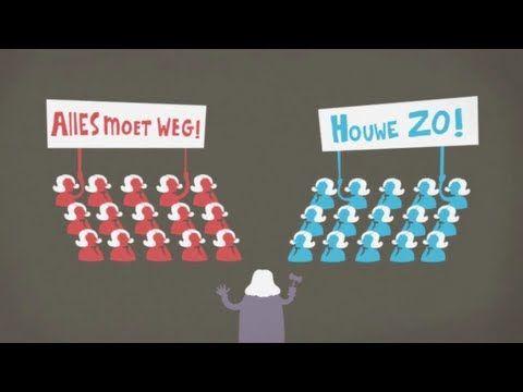 Waarom spreken we in de politiek van links en rechts? - YouTube