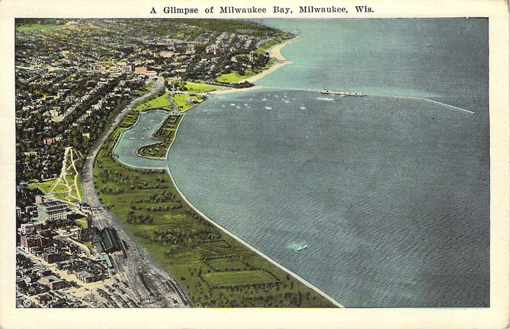 A Glimpse of Milwaukee Bay Milwaukee, WI