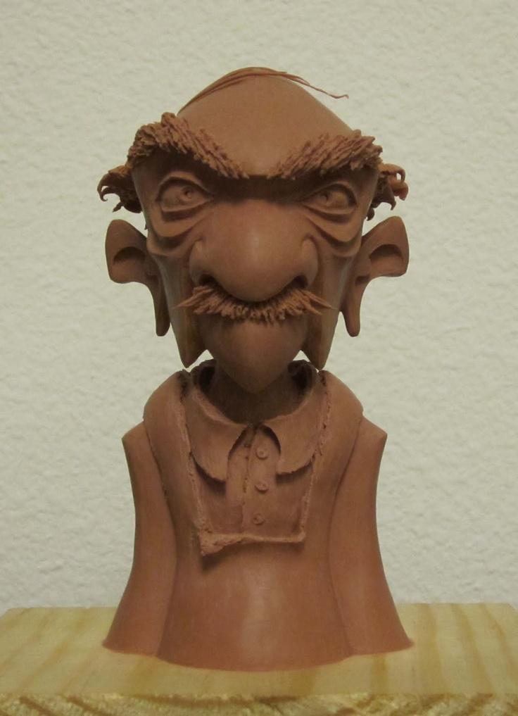 Lulu Character Studios - Lesley Wisley Padien - baker #maquette