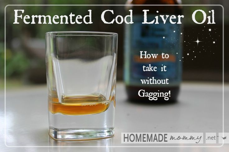 How to Take Cod Liver Oil Without Gagging | www.homemademommy.net