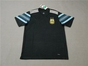 2018 World Cup Jersey Argentina Away Replica Black Shirt  BFC458 ... 0dea5a381